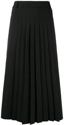 RED Valentino pleated mid skirt