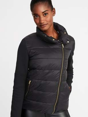 Old Navy Hybrid Frost-Free Moto Jacket for Women