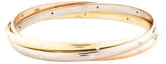 Cartier Diamond Trinity Rolling Bangle