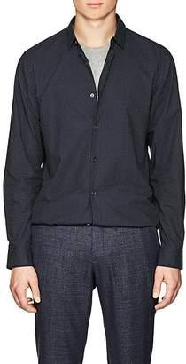 Theory Men's Murrary Arrow-Print Cotton Poplin Shirt