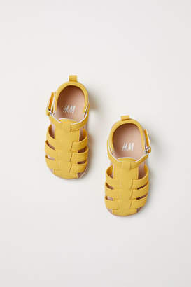 H&M Sandals - Yellow