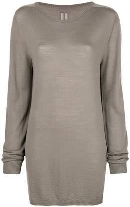 Rick Owens oversized long-sleeve sweater