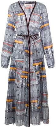Lemlem Kente printed robe dress