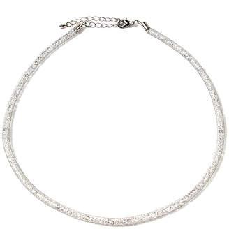 Amrita Singh Crystal Mesh Necklace