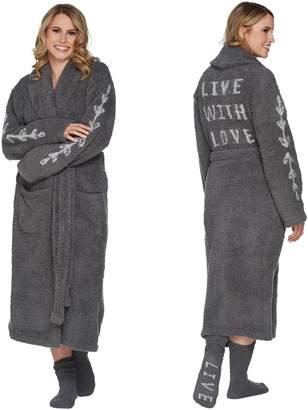 Barefoot Dreams Cozychic Inspiration Robe with Socks