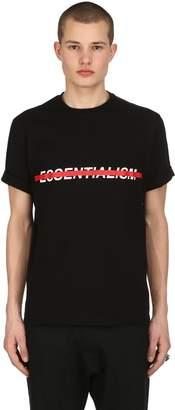 Neil Barrett Loose Fit Essentialism Jersey T-Shirt