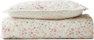 Pehr Meadow Print Reversible Quilt