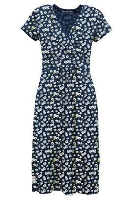 Aster Womens Brakeburn Daisy Wrap Dress - Blue