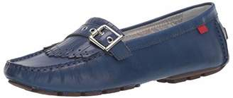 Marc Joseph New York Womens Genuine Leather South Street Kilt Loafer Driving Style