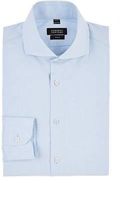 Barneys New York Men's Striped Cotton Trim Dress Shirt