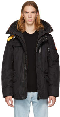 Free Express Shipping at SSENSE · Parajumpers Black Masterpiece Base Right Hand Jacket