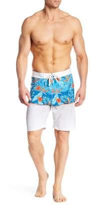 Burnside Tropical Stretch Board Shorts
