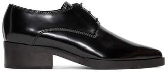 Stella McCartney Black Pointed Toe Derbys