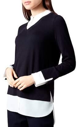 Hobbs London Macy Layered-Look Sweater