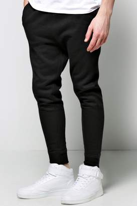 boohoo Lightweight Drop Crotch Joggers