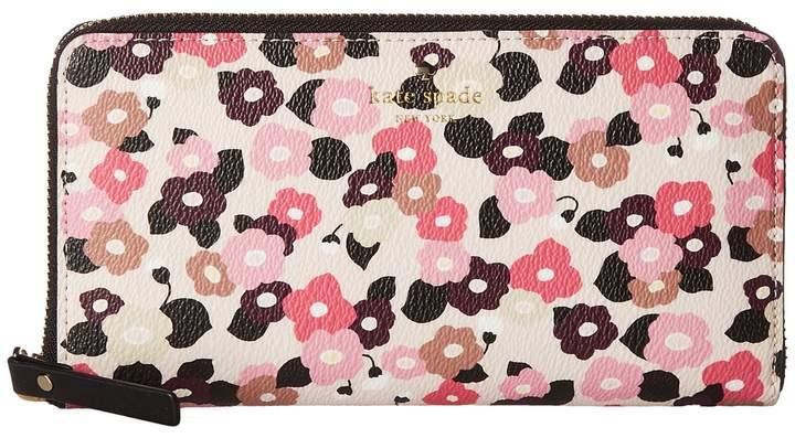 Kate Spade New York - Hyde Lane Floral Michele Wallet
