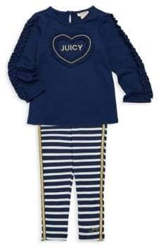 Juicy Couture Little Girl's Two-Piece Top & Leggings Set