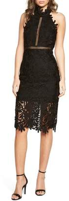 Bardot Kara Lace Halter Dress