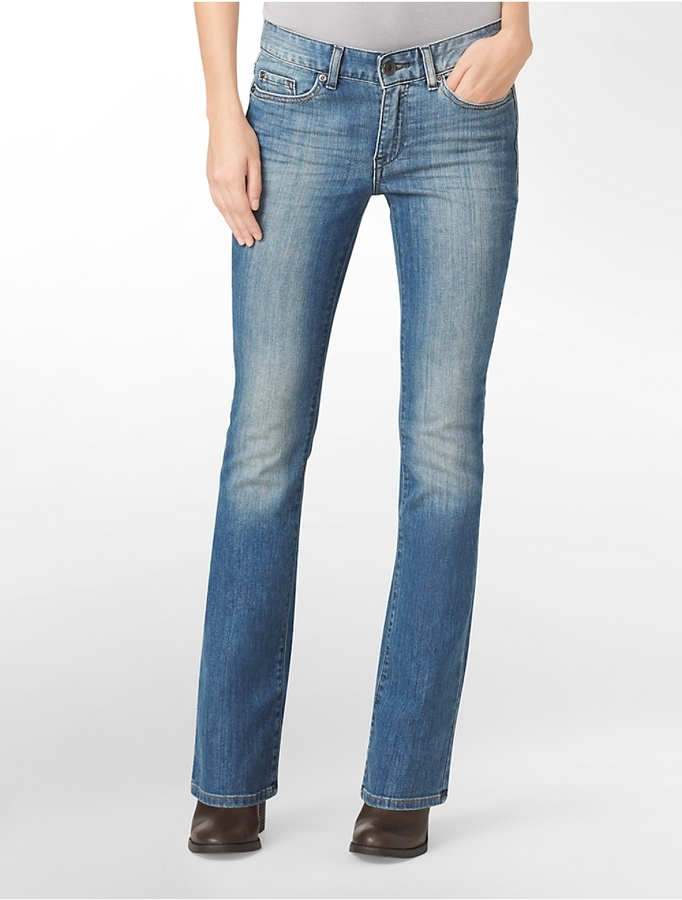 Calvin Klein Ultimate Bootcut Sunrise Blue Wash Jeans