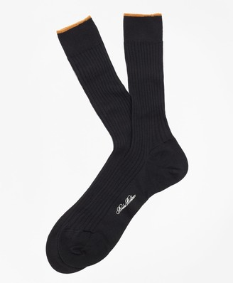 Brooks Brothers Merino Wool Sized Crew Socks
