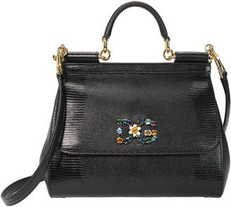 Dolce & Gabbana Sicily Medium Shoulder Bag
