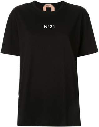 No.21 logo relaxed T-shirt