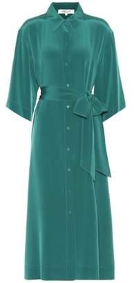 Diane von Furstenberg Silk shirt dress