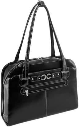 McKlein Oak Grove Leather Laptop Briefcase