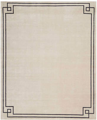 Christopher Guy Finesse Mediterranean Sand Hand-Knotted Rug, 9' x 12'