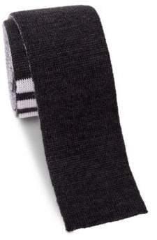 Thom Browne Knit Wool Tie