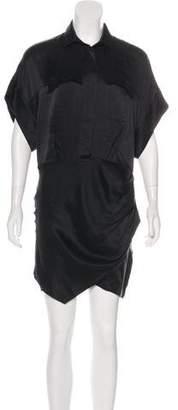 IRO Ozaly Silk Knee-Length Dress