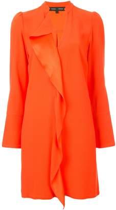 Proenza Schouler Long Sleeve Ruffle Dress
