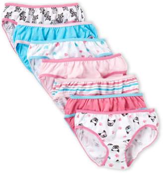 Rene Rofe Toddler Girls) 7-Pack Bikini Panty