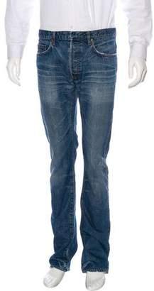 Christian Dior Distressed Slim Jeans