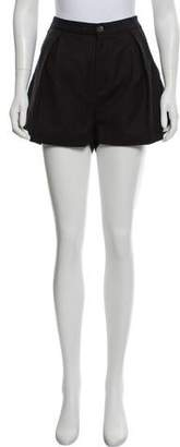 Rag & Bone Wool High-Rise Shorts