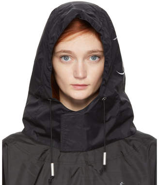 A-Cold-Wall* A Cold Wall* SSENSE Exclusive Black Technical Nylon Hood