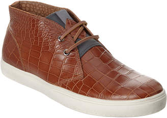 Donald J Pliner Men's Paxton Leather Chukka Sneaker