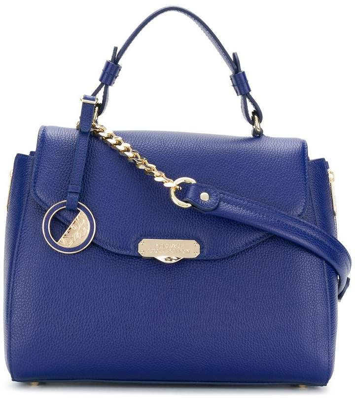 Versace Collection embossed logo tote