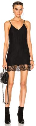 Amiri V Neck Slip Dress