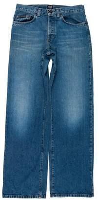 Dolce & Gabbana Five Pocket Straight-Leg Jeans