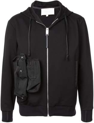 Alyx zipped pocket detail hoodie