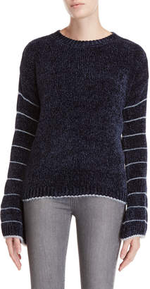 SONO Ci Chenille Knit Long Sleeve Sweater