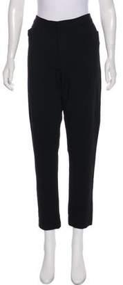 Ralph Lauren Black Label High-Rise Straight-Leg Pants
