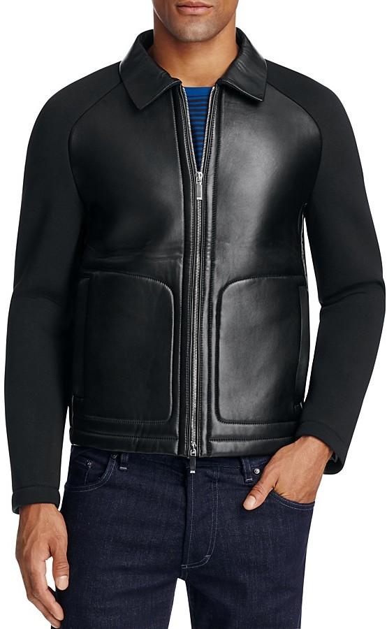 Hugo BossBOSS T-Corvis Bonded Leather Jacket