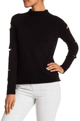 360 Cashmere Amanda Distressed Cashmere Sweater