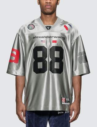 Alexander Wang High Shine Football Jersey