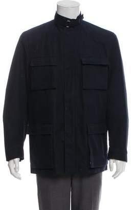 Burberry Cargo Zip-Up Jacket