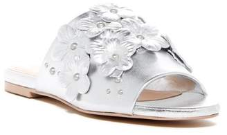 Charles David Sicilian Metallic Leather Sandal