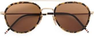 Thom Browne Eyewear Tokyo tortoiseshell sunglasses