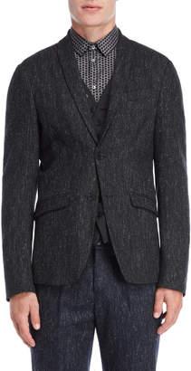 Patrizia Pepe Grey Wool-Blend Sport Coat